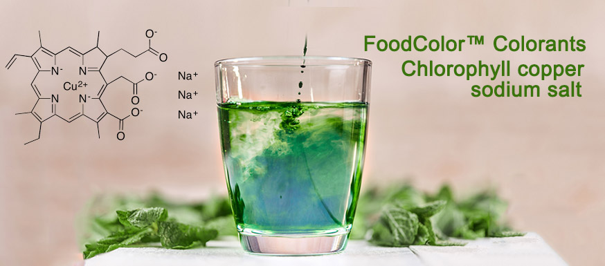 FoodColor™️ Colorants - Chlorophyll copper sodium salt