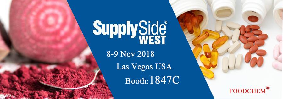 SupplySide West 2018 in Las Vegas USA