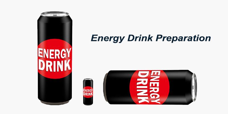 Energy Drink Preparation