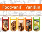 Foodvanil™ Vanillin