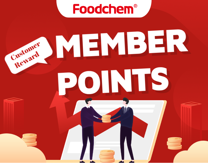 Foodchem Member and enjoy Points reward