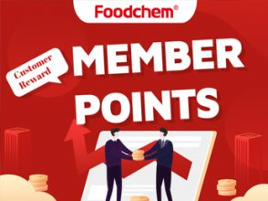 Foodchem Member and enjoy Points reward