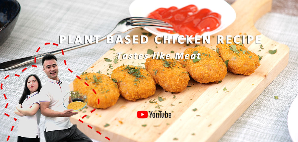 Plant based Chicken Recipe Tastes like Meat